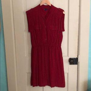 GAP Red Polka Dot Dress